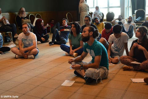 UNFPA organized 1 week workshop on interactive theater techniques for young people to enable them sharing social messages on different topics