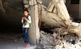 The Syrian crisis has reached a tragic anniversary: 10 years of ceaseless conflict. © UNFPA Syria